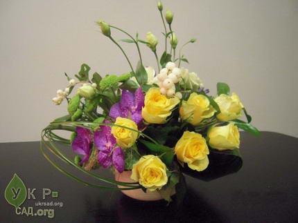 Флористика, цветы, букеты