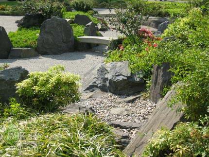 Сад камней, каменистый сад