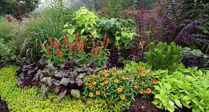 Палисадник в саду