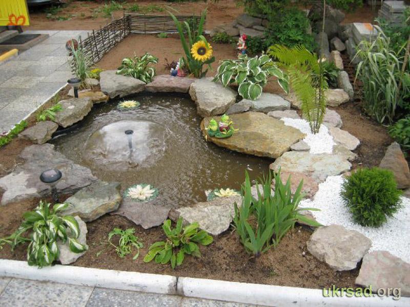 Бассейн декоративный в сад своими руками 71